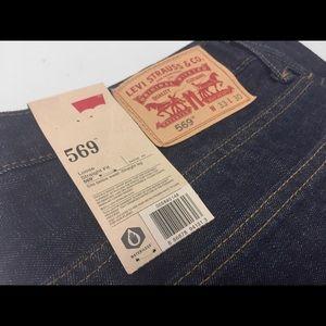 Levi's Men's 569 Loose Straight-Leg 33x30 - NEW